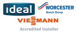 EPC Plumbing & Heating are Ideal, Viessmann and Worcester Bosch Accredited Installers,  Louth, Meath, Balbriggan, Swords, Clonee, North County Dublin, Monaghan and Cavan, Ireland